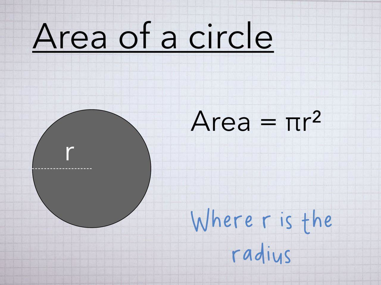 how to find the area of a sector circle