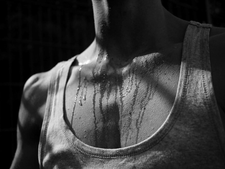 How to find a way to stop sweating so much